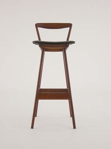 danish bar stools danish modern teak bar stool chair henry rosengren hansen