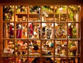 christmas holiday shop windows