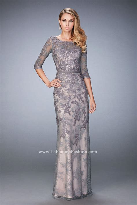 Dress And Hong Pre Order la femme 21740 lace of the gown novelty