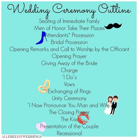 Wedding Ceremony Script Ideas by Wedding Ceremony Program Script Wedding Ideas 2018