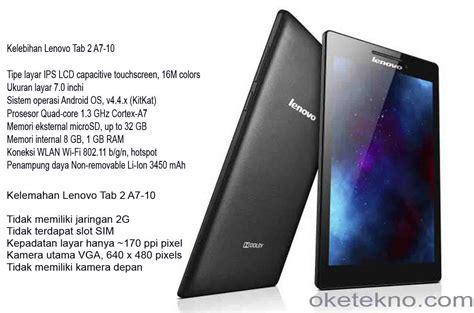 Harga Lenovo Tab 2 A7 kelebihan dan kelemahan lenovo tab 2 a7 10 oketekno