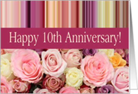 10th wedding anniversary cards from greeting card universe