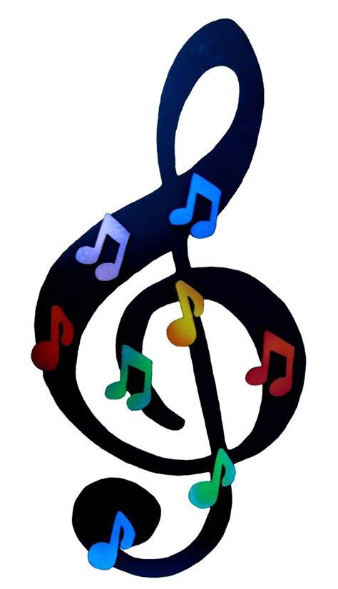 Lavagna magnetica Chiave di Violino   fatta a mano   Per