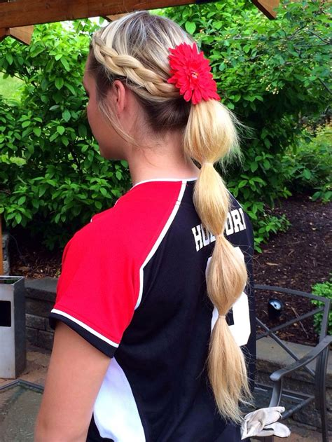 Softball Hairstyles by Hairstyles For Softball Hair
