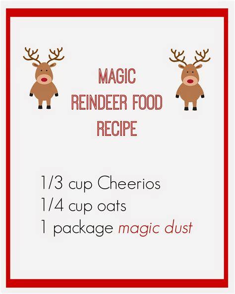 free printable reindeer food recipe east coast mommy magic reindeer food