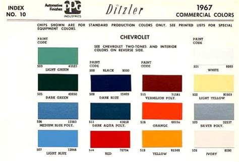 1967 truck paint code help the 1947 present chevrolet gmc truck message board network
