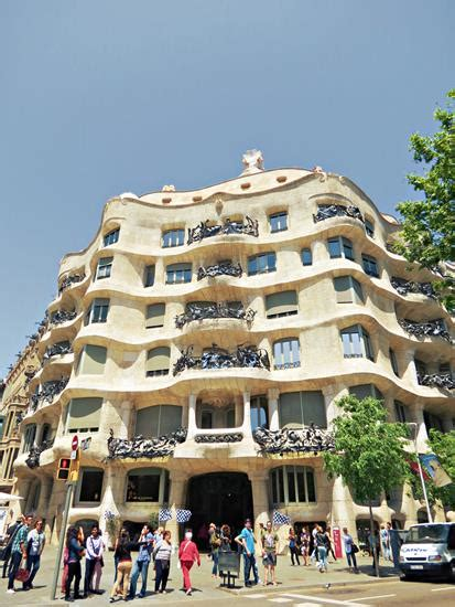 casa mila barcelona home architecture top style house plans