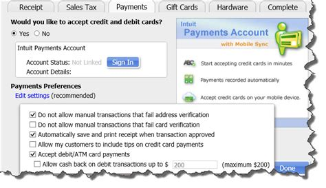 Quickbooks Gift Card Service - getting started with quickbooks point of sale