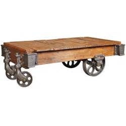 vintage industrial lineberry cart coffee table at 1stdibs