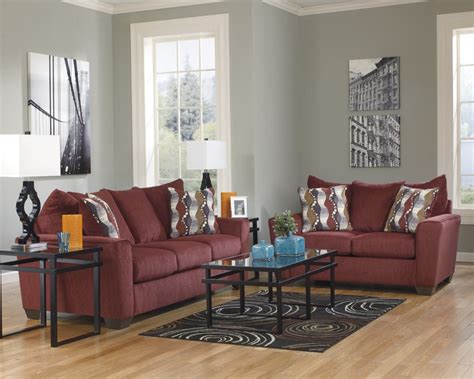 burgundy living room furniture brogain burgundy living room set 26901 living room