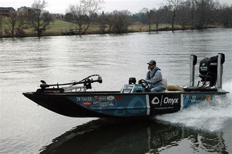 bass pro boat props ott defoe skimming the top fishing boatus magazine