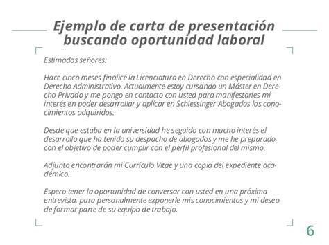 carta de presentacion nuevo empleo p3 empleo carta de presentacion