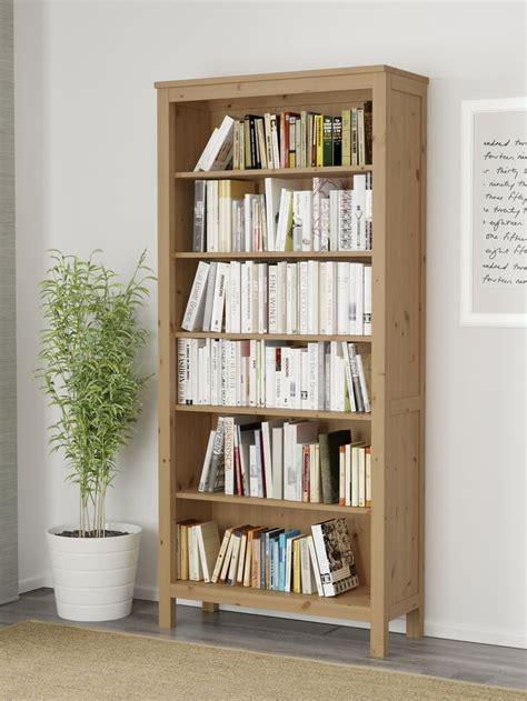 nornas bookcase hack hemnes boekenkast ikea ikeanl massief lichtbruin