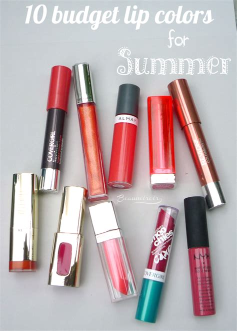 10 Best Lipsticks For This Summer by Summer Essentials 10 Best Budget Lipsticks And Lipglosses