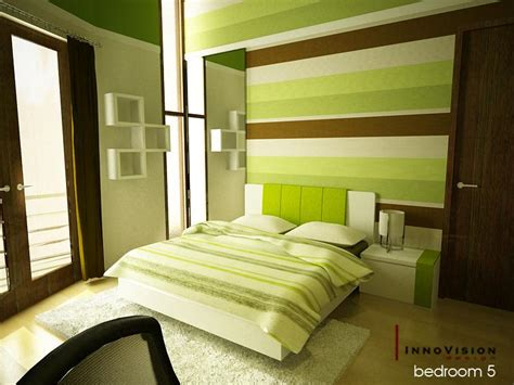 Colorful Interior Design Ideas 16 Green Color Bedrooms