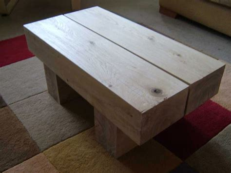 Sleeper Table by Railway Sleepers