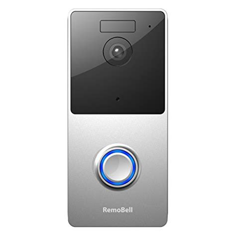 remobell wifi wireless doorbell battery powered