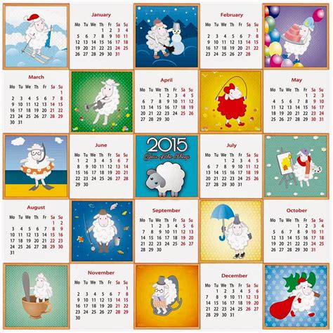 Calendario Chino Animales Por Mes A 241 O De La Cabra 2015 Calendarios 2018 Para Photoshop