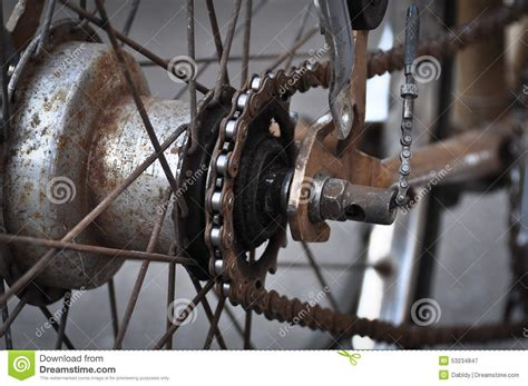 bicycle gear gear of bicycle royalty free stock photography