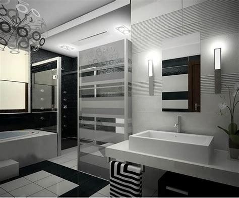 Modern Black Bathrooms by Modern Black And White Bathroom Maison Valentina