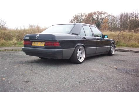 lowered mercedes 190e 190e low stance black driftworks forum