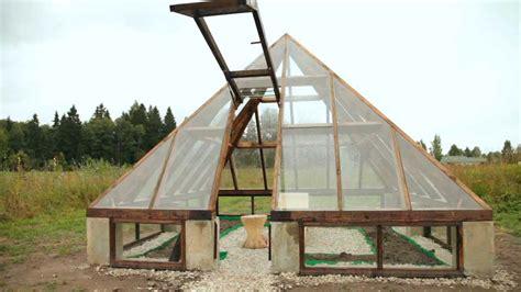 make a house a home pyramid greenhouse up moving door youtube