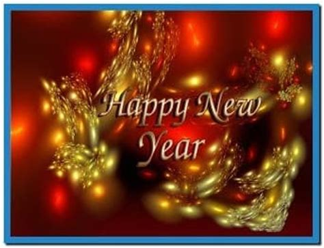 happy new year screensavers download free