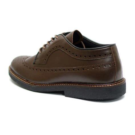 Sepatu Almost Longwing Brown Formal Pria sepatu formal longwing brown mall indonesia