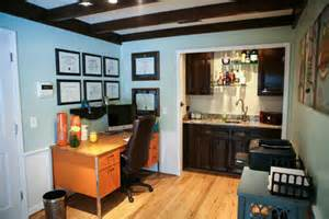 Bar For Office Eclectic Recipes Home Office And Bar Makeover