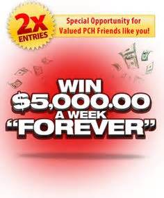 Pch 4 Million Sweepstakes - pch win 1million plus 5 000 a week for life for life and life