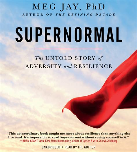supernormal the untold story of adversity and resilience books supernormal hachette book