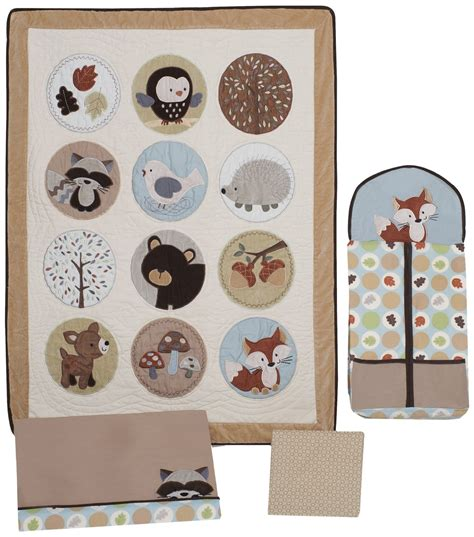 Forest Friends Nursery Decor On The Money Baby Room Decorating S Forest Friends Crib Set And Accessories