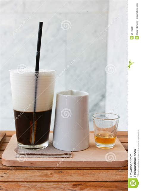 Latte Jelly Drink jelly coffee for drink with milk and syrup stock image image 26736561