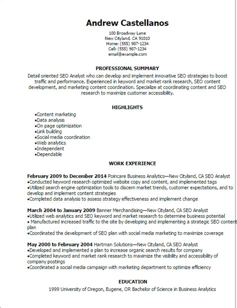 Research Experience Letter Format actuarial analyst resume