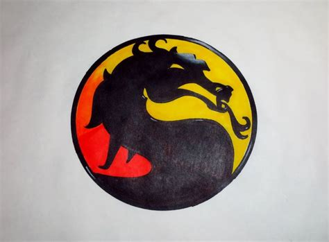 doodle mortal how to draw mortal kombat logo howto draw mortalkombat
