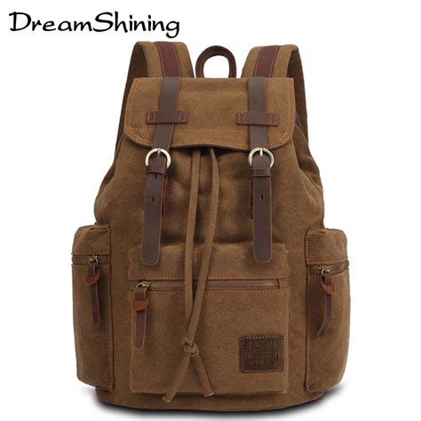 dreamshining new fashion vintage backpack s casual