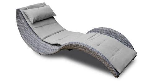 Chaise Longue Résine Tressée chaise longue moderne en r 195 sine tress 195 e lorenza mobilier