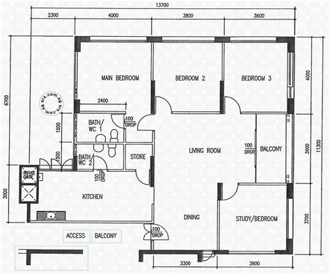 the gardens at bishan floor plan floor plans for bishan street 13 hdb details srx property