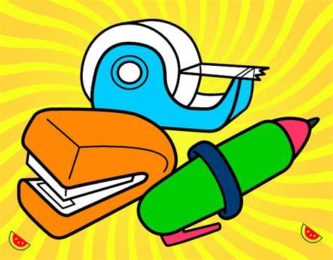 dibujos realistas materiales dibujo de materiales de la escuela pintado por mariana098