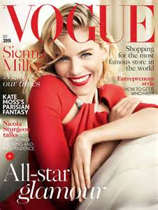 Best Magazine Covers For October miller vogue uk magazine cover october 2015