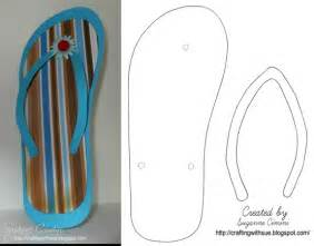 flip flop template flip flop template we made many of them and put them