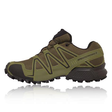 salomon speedcross 3 trail running shoes mens salomon speedcross 3 gtx mens green waterproof