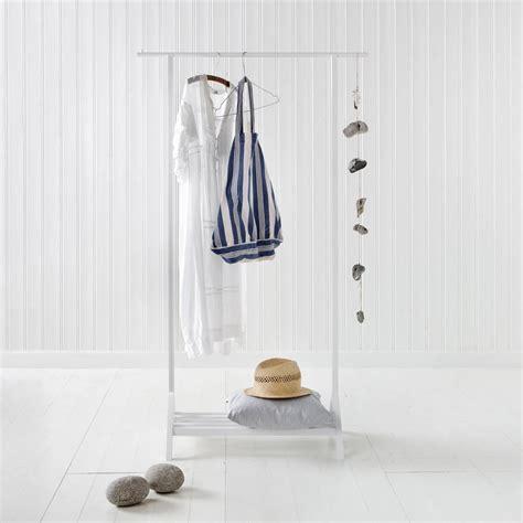 white clothes rail by nubie modern boutique
