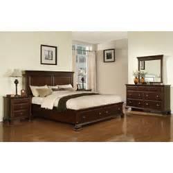 brinley cherry storage bedroom set choose your size
