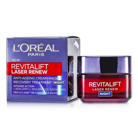 Anti Aging Neck 50ml 1 7oz l oreal revitalift laser renew anti ageing mask