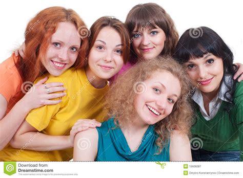 imagenes de varias mujeres varias mujeres jovenes felices fotograf 237 a de archivo libre