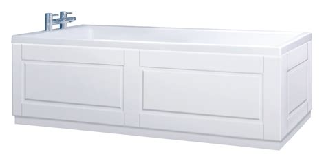 bathtub panel custom made matt white bath panel all styles
