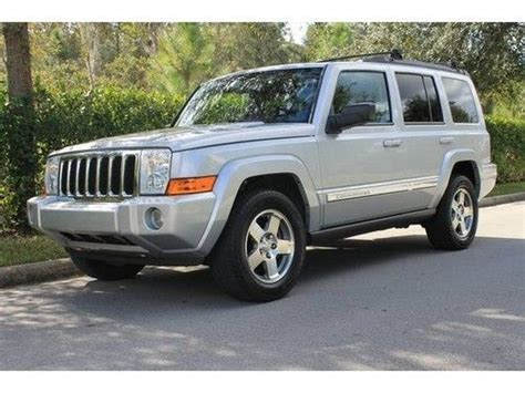 sell used 2010 jeep commander sport automatic 4 door suv in fort myers florida united states