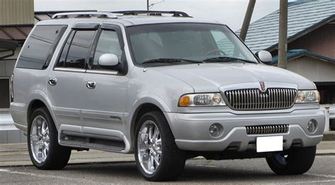 on board diagnostic system 2002 lincoln navigator lane departure warning file lincoln navigator first generation jpg wikimedia commons