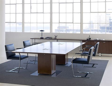 Large White Meeting Table Propeller 174 Conference Table Knoll